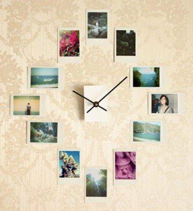 Já imaginou 12 das suas fotos de família transformadas num relógio único, exclusivo, e feito por si? Aqui fica a ideia.
