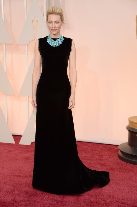 Cate Blanchett  com  John Galliano. para Martin Margiela