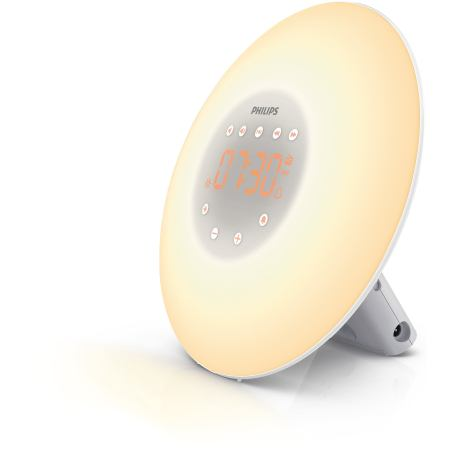 Philips Wake-up Light com lâmpada LED, (pvp: €99.99)