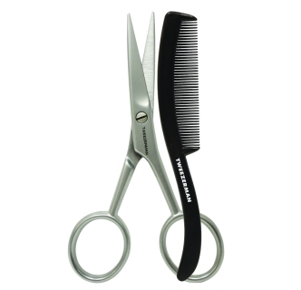 Duo Tesoura & Pente para Bigode, Tweezerman (pvp: € 19,95).