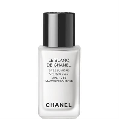 "O meu segredo de Verão? Base branca ""Le blanc de Chanel""."