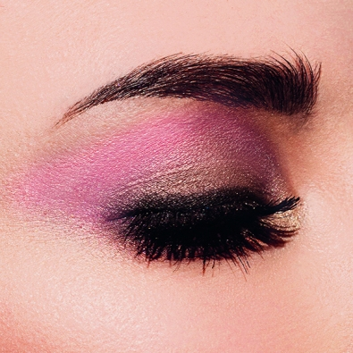 Olhos Sisley com as cores da paleta Dream
