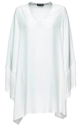 Túnica Whos Who (pvp: 313.20€). Use com calças ou saia ou, porque não, por cima daquele vestido justo que já não arrisca usar.