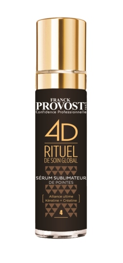 Para tratar as pontas do cabelo, o Serum FranckProvost 4D Sublimateur (pvp: €26.90).