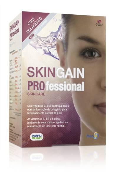 Suplemento, com colagénio e vitaminas, para a pele. Skin gain_(pvp:€41.60)