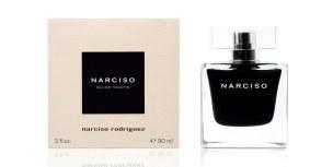 """Arte e poder de sedução Depos de """"Narciso Eau de Parfum"""", a nova """"Eau de Toilette Narciso"""", um bouquet floral, feminino, sedutor e viciante. (Edt 50ml, pvp: €71)"""