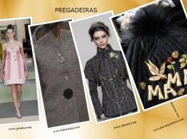 Se tem alfinetes de peito, dê-lhes uso e personalize a sua roupa. Use muitas, como Prada e Dolce & Gabbana, ou apenas um, no vestido, casaco, chapéu ou ...