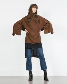 Poncho de caxemira, Zara (PVP:99,95 eur)