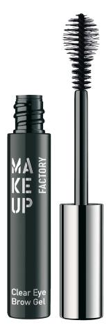 O Clear Eyebrow Gel ajuda a fixar os pelos e, como é transparente, fica bem em todos os tons de cabelo. Pode ser aplicado por cima do pó ou do lápis (PVP: 10,80 eur)