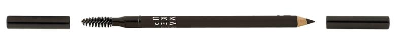 O Eye Brow Styler, da Make Up Forever, tem uma escova que ajuda a obter a forma ideal da sobrancelha. O pincel permite esbater o contorno ( PVP: 15 €, na Perfumes & Companhia)
