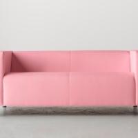 IKEA sofá rosa