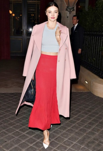 Miranda Kerr, em Paris