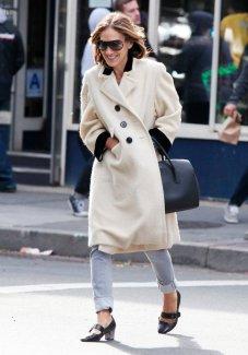 Um bom casacão é a aposta certa de Sarah Jessica Parker