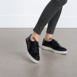 Blucher plataforma, Zara (PVP: 29,95).