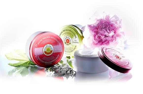 """Bálsamos preciosos Roger et Gallet. ultranutritivos com 95% de ingredientes de origem natural destilados para nutrir, sublimar e """"reabastecer"""" a pele seca (PVP: 22,00 €)"""