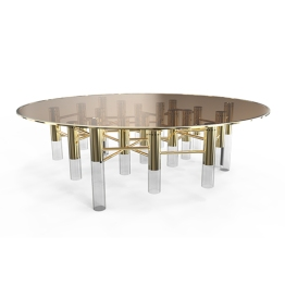 Ike Center Table, Delightfull. Para um ambiente elegante e sofisticado.Preço sob consulta