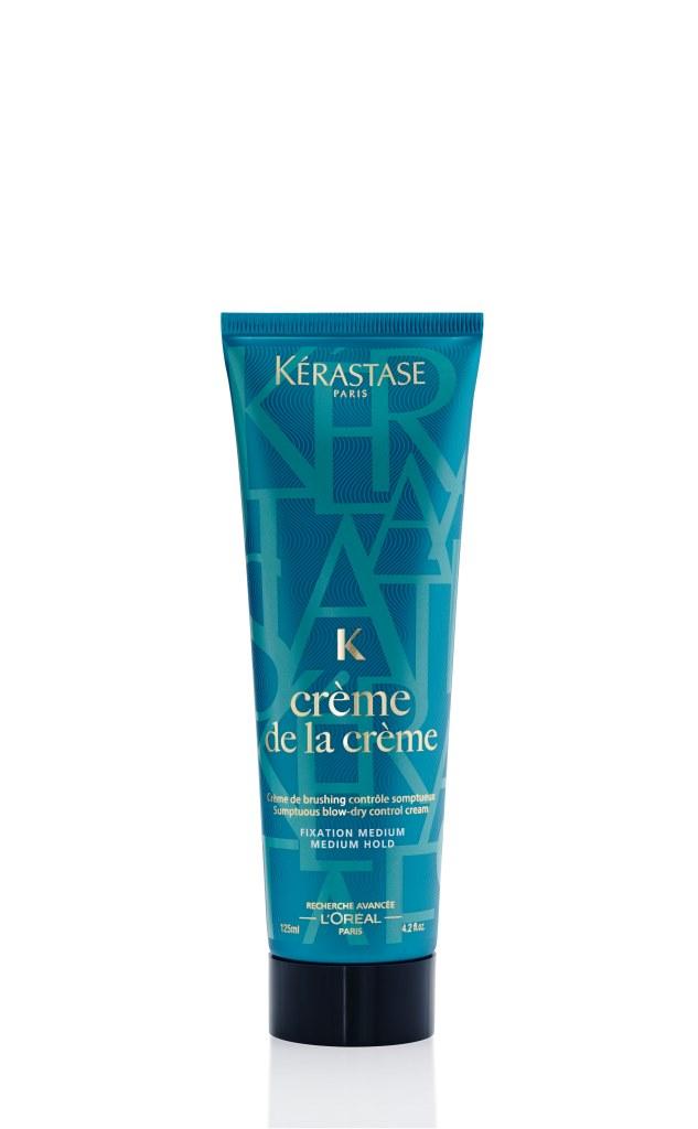 Créme de la Creme de Kérastase para cabelos frisados e rebeldes. Protege do secador e da humidade e deixa o cabelo mais liso, macio e maleável (PVP: 17,70€)