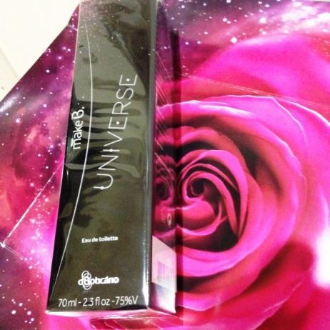 "Perfume ""Universe"" de MakeB, Boticário"