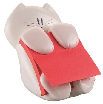 Dispensador Post-it, Gato, da 3M (PVP: 10,73€).