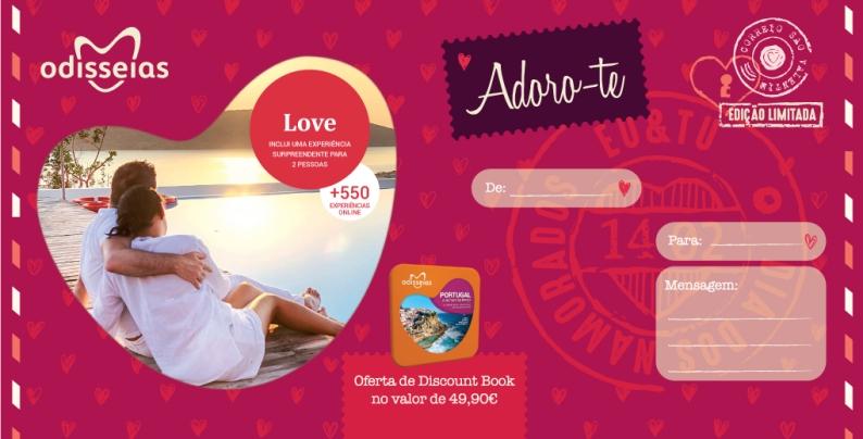 Pack Love por 29,90€. Experiências de sonho para viver a dois em www.odisseis.com
