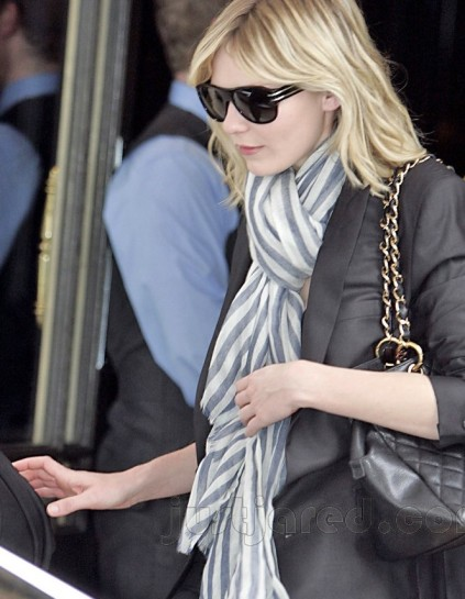 Kirsten Dunst sunglasses.