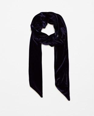 Lenço de veludo, comprido, Zara. PVP: 9,95 euros
