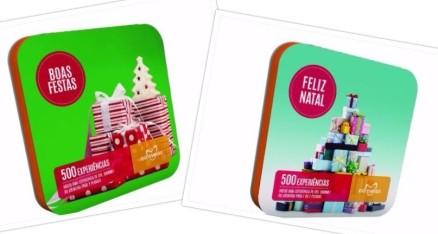 Ofereça experiências que perdurem na memória de quem as recebe! A Odisseias tem dois novos packs: Feliz Natal e Boas Festas a 15,90 e €29,90 respectivamente.