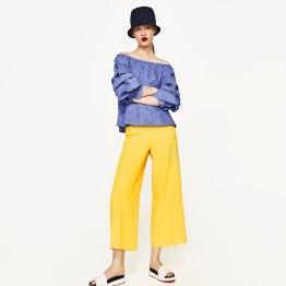 Calças Zara. PVP: 29,95 euros.