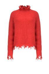 Camisola de malha vermelha, Pinko. PVP: 225 €