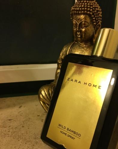 Home Spray Wild Bamboo da Zara Home. PVP: 12,00 eur.