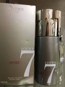 Eau de Toilette Sport , Loewe 7 para homem. PVP: 80 eur