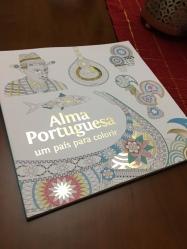 "Livro para colorir ""Alma Portuguesa"", Goody. PVP: 14,90 eur"