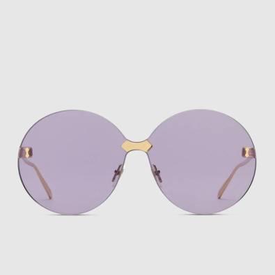 Óculos em metal, Gucci. PVP: 350 eur em www.gucci.com