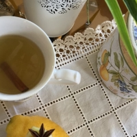 O chá picante que se bebe cá em casa